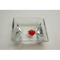 déco : bougies chauffe-plat9 ROSES ROUGES (3 heures de flamme)