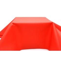 nappe imitation tissu 1,2*25m rouge