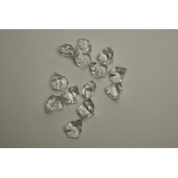déco : diamants transparent en sachet de 100g