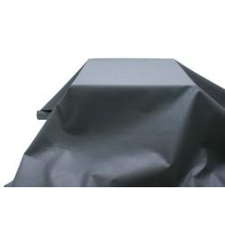 nappe imitation tissu 1,2*25m noire
