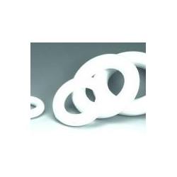 polystyrène : Couronne ronde 25cm