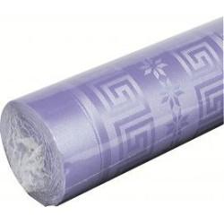 nappe damassée 1,2 x 25m lilas (parme)