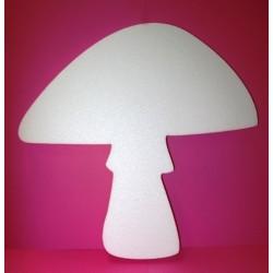 polystyrène : champignon 50 x 55 cm