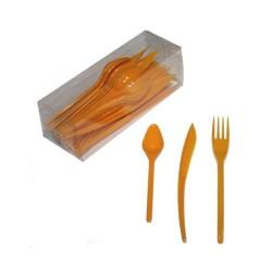 Vaisselle : Couverts box 10 fourchettes/couteaux/cuillères