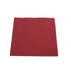 """50 serviettes carrées 38*38cm bordeaux """"tendance"""""""