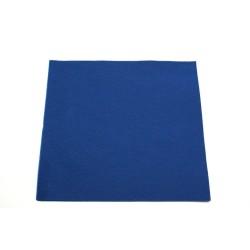serviettes  caress ou celi-ouate 38*38cm bleu marine (les 40)