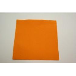 serviettes caress 38*38cm orange (mandarine) (les 40)