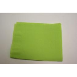 "50 serviettes molletonnées 38*38cm ""tendance"" vert anis"
