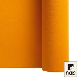 nappe imitation tissu 1,2*25m orange (mandarine)