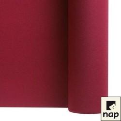 nappe imitation tissu bordeaux 1,2*25m