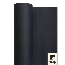nappe imitation tissu 1,2*25m gris anthracite