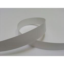 bolduc large 19mm x 91. 44m  blanc lisse