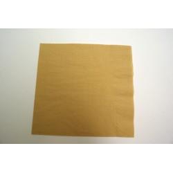 serviettes ouate 33 x 33 cm or (les 20)