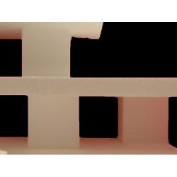 Réhausse polystyrène : colonne carré 15 cm x 10 cm