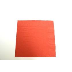 serviettes celi-ouate 39 x 39 cm terracota (les 50)