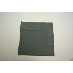 100 serviettes ouate lisse 38 x 38 cm 2 feuilles  gris