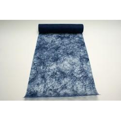 nappage : chemin de table 10mx30cm bleu marine