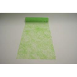 nappage : chemin de table 10mx30cm vert anis