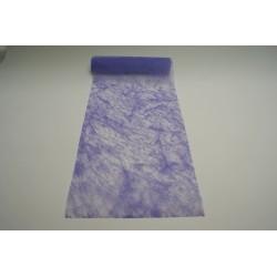 nappage : chemin de table 10mx30cm parme (lilas)