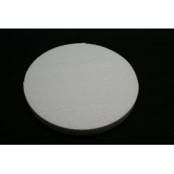 polystyrène : rond 240x240x29 mm