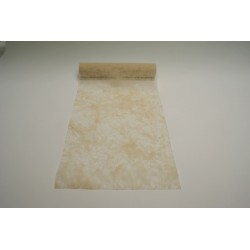 nappage : chemin de table 10mx30cm ivoire