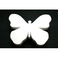 3 papillons polystyrène : GM