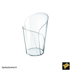 300 Verres Conique Blossom 9cl transparente ref 6043-21