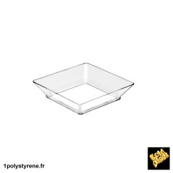 750 Plateau Small Plate 4,5cl transparent ref 6010-21
