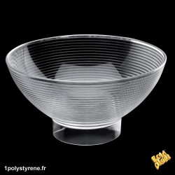 84 Coupelle Medium Bowl 22cl transparente ref 6013-21