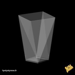 120 Coupelle Diamond Big 15 cl transparente ref 6109-21