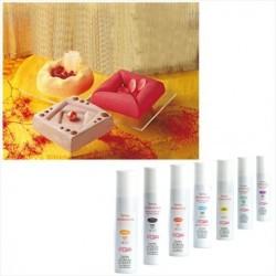 Spray colorant effet velours rouge 400ml