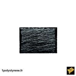 """240 ardoises """"rock assiette small"""" noir ref 6035-19"""