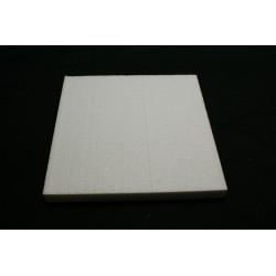 polystyrène : carré 400x400x29 mm